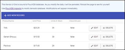GitHub - terikon/kendo-pouchdb: Kendo UI DataSource adapter