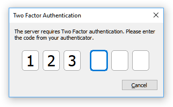 Two Factor UI