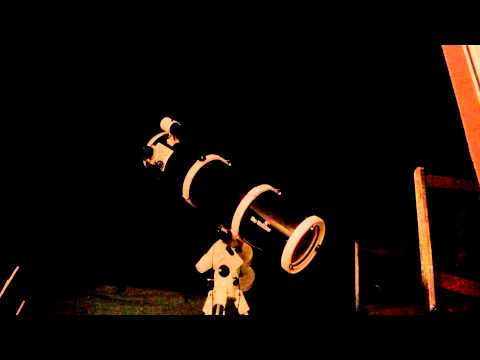 Video of the telescope slewing