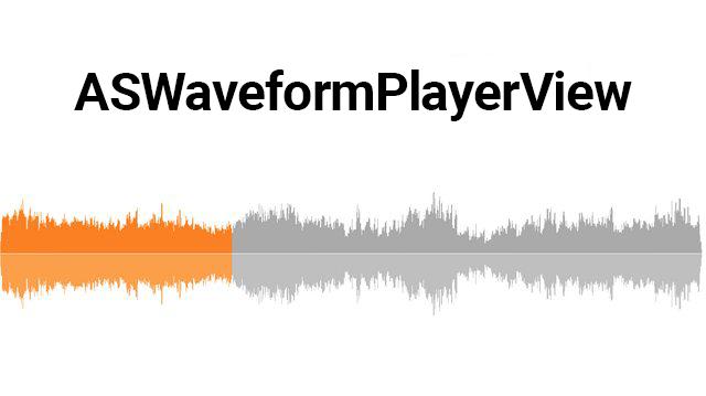 GitHub - alexey-savchenko/ASWaveformPlayerView: Audio waveform view