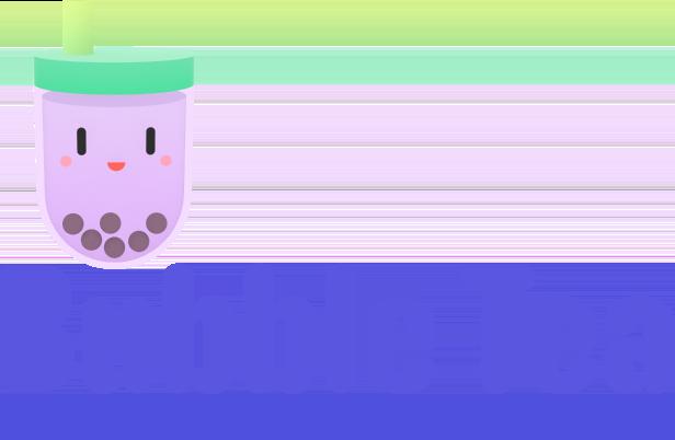Bubble Tea Title Treatment
