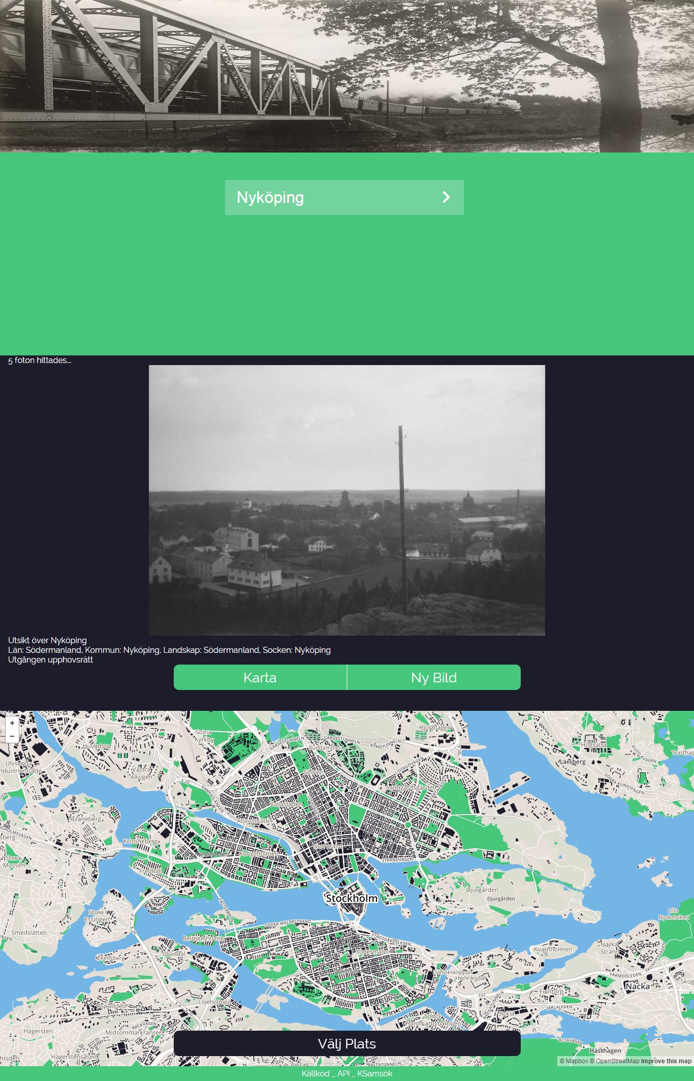 Screenshot from Bildplats.