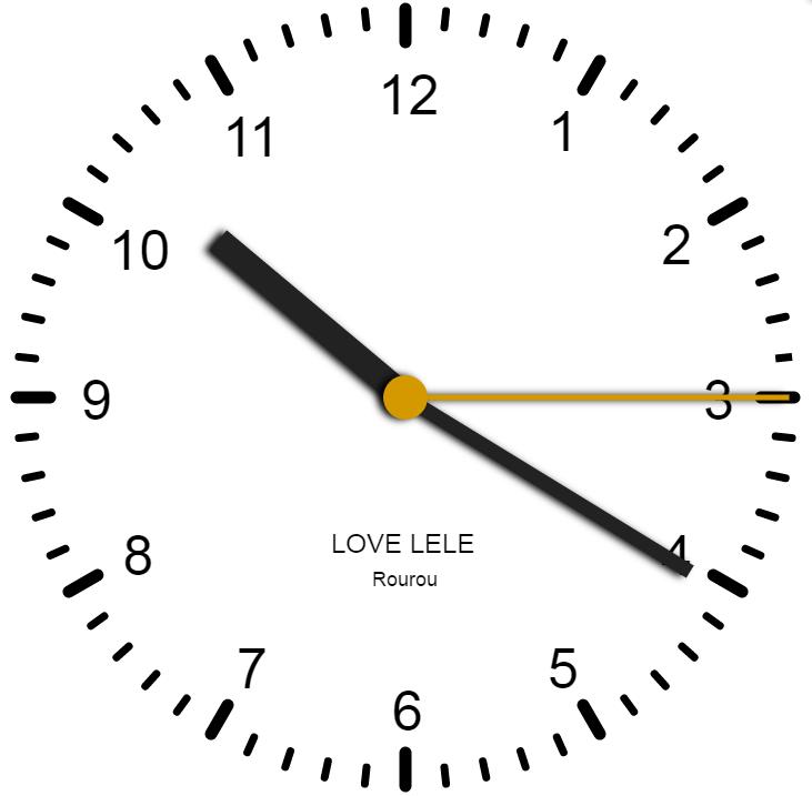 GitHub - tccpc/canvas-clock: html5 canvas 开发 3D钟表