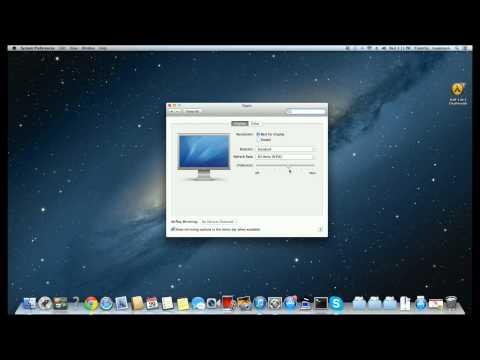 Mac Overscan Setup