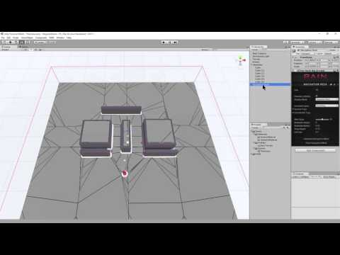 Set up a Waypoint Route in RAIN AI for Unity