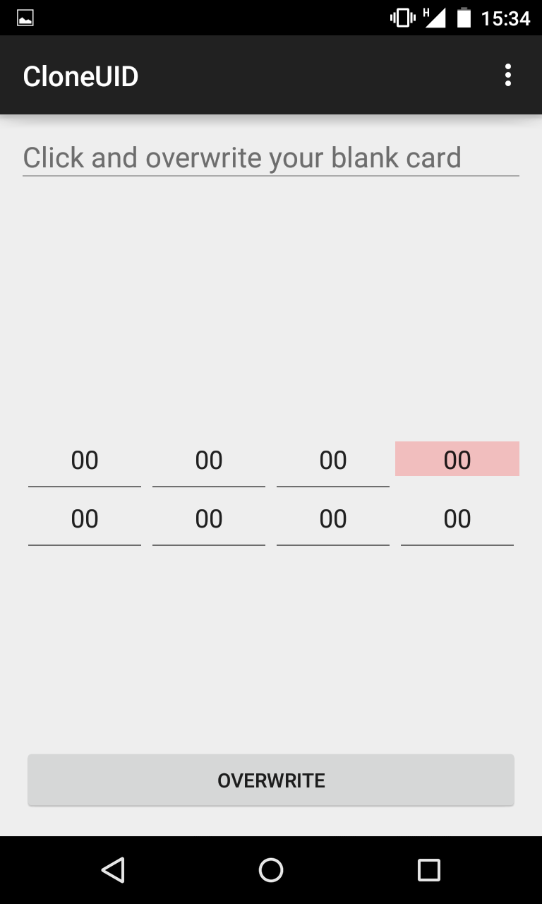 GitHub - cgvwzq/cloneuid: Android app for cloning MIFARE