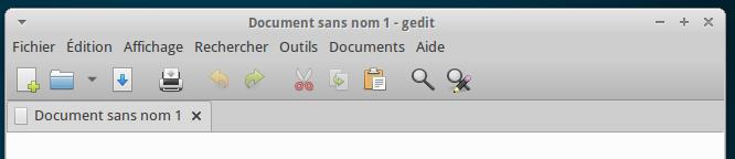 gedit on Xubuntu 13.10