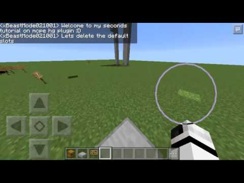 MCPE - HG plugin tutorial updated