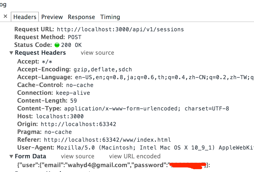 AngularJS has different request data format from Jquery when send