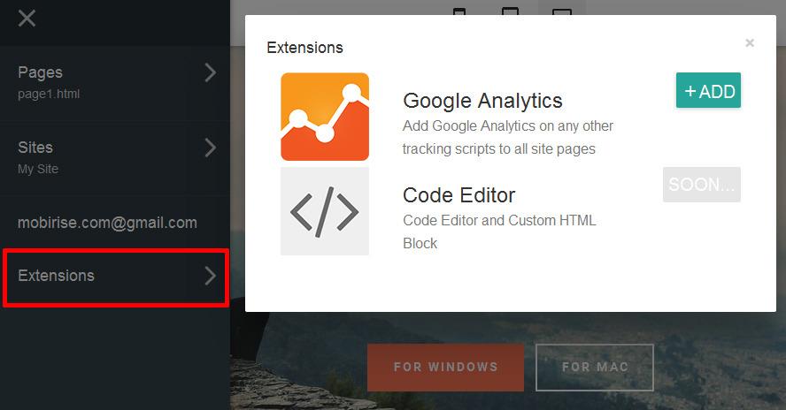 website editor