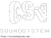 csv soundsystem