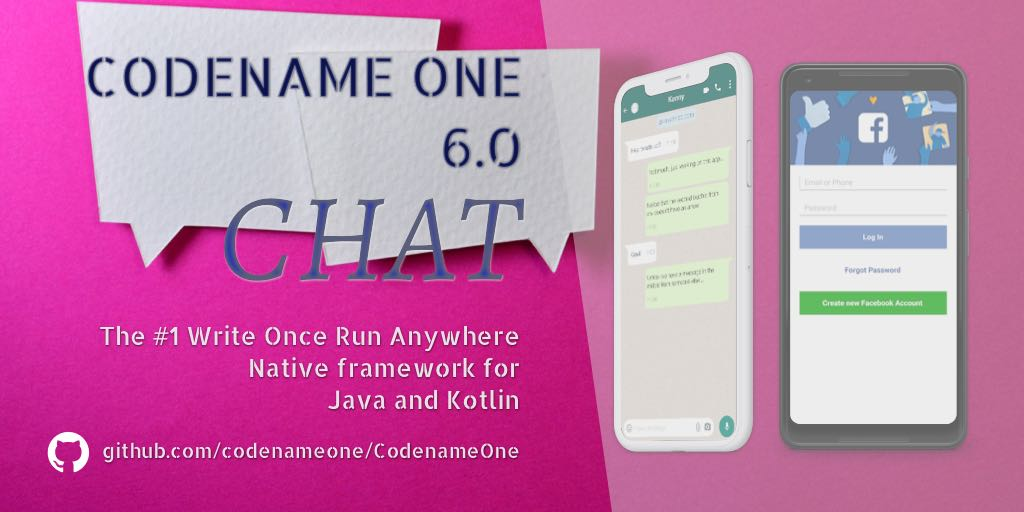 Codename One 6.0 - Chat