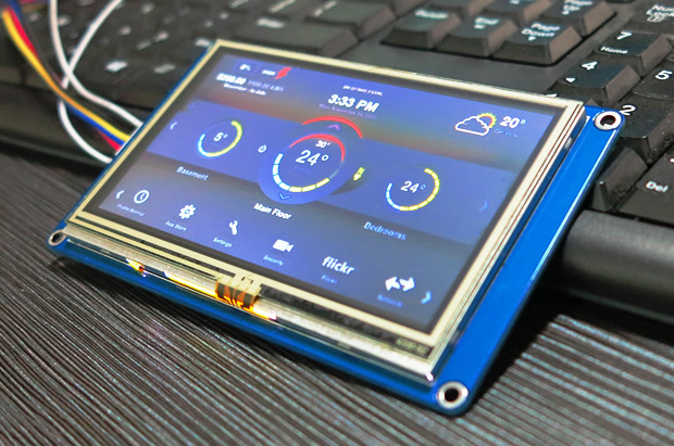 pic of nextion device