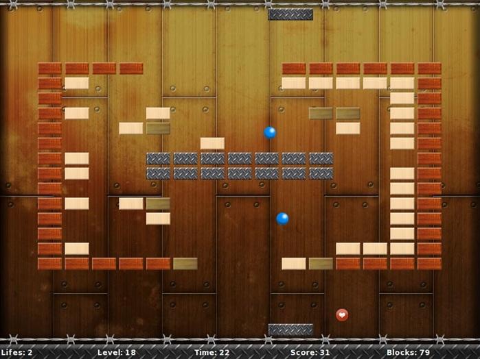 BroBreakout Level Screenshot