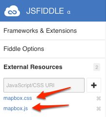 jQuery in JSFiddle