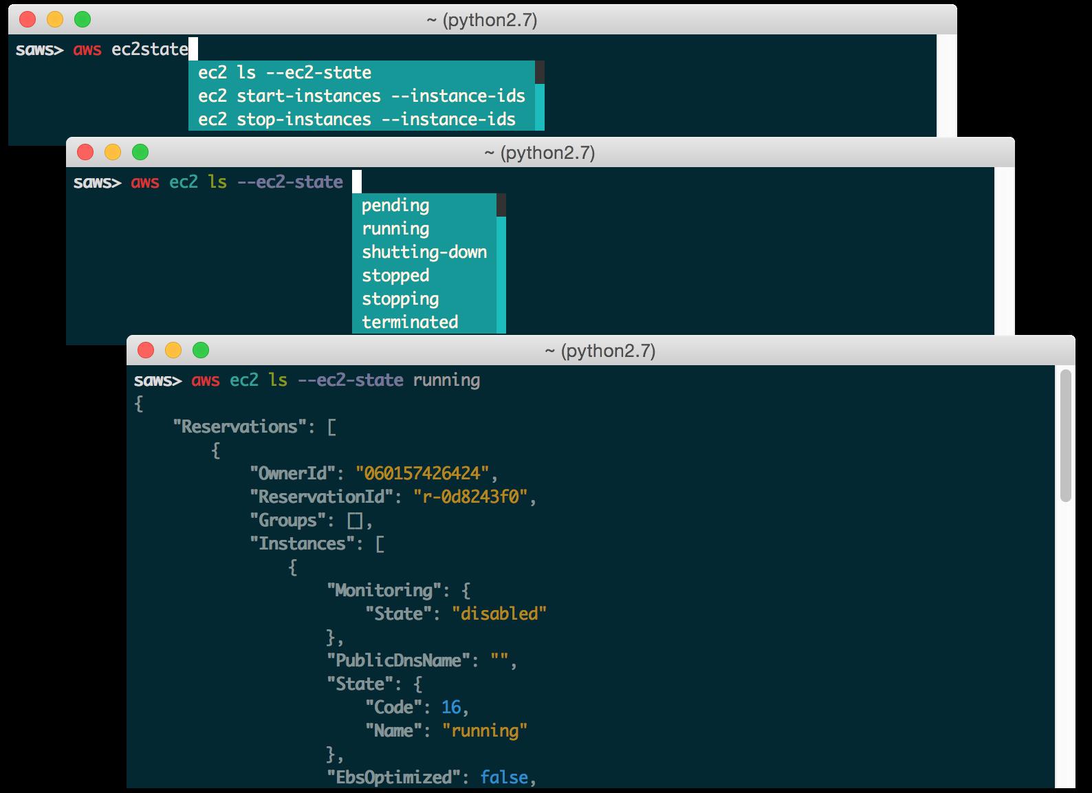 GitHub - donnemartin/saws: A supercharged AWS command line