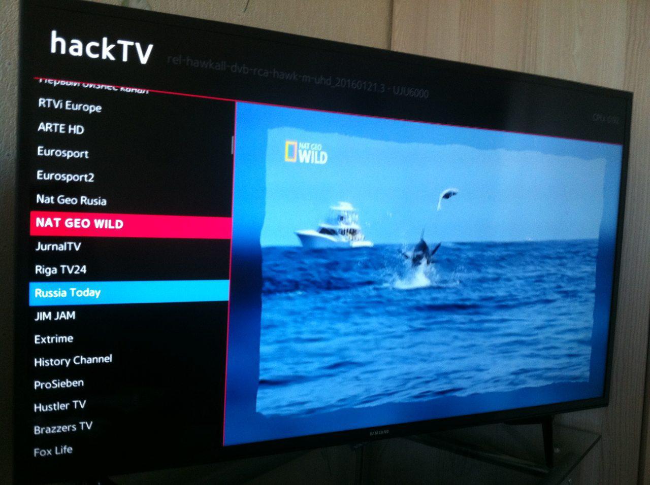 GitHub - kosmodrey/hackTV: Hackable Samsung Smart TV (Tizen) video