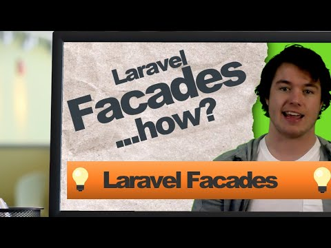 Clean Code Studio Talking About Laravel Facades and Laravel Make Facades Package Tutorial