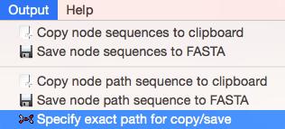 Specify exact path