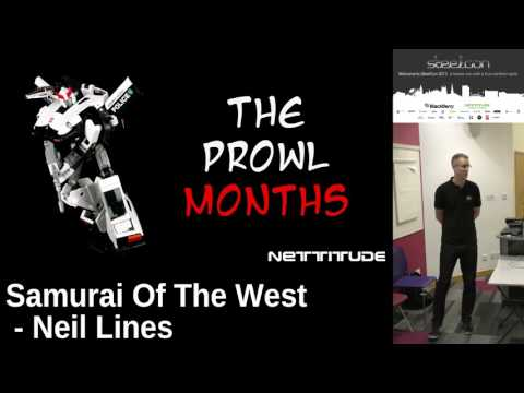 Steelcon 2017 - Neil Lines - Samurai of the west