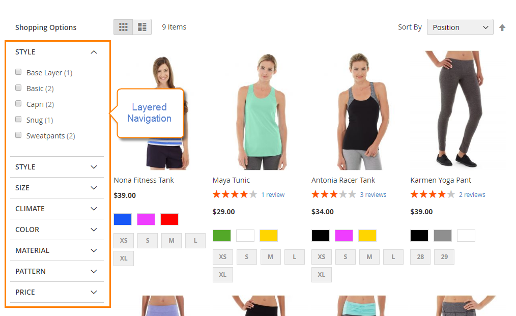 What is Magento 2 Layered Navigation?