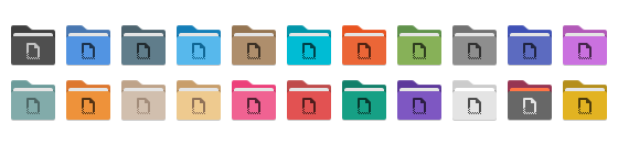 Folder Color Preview