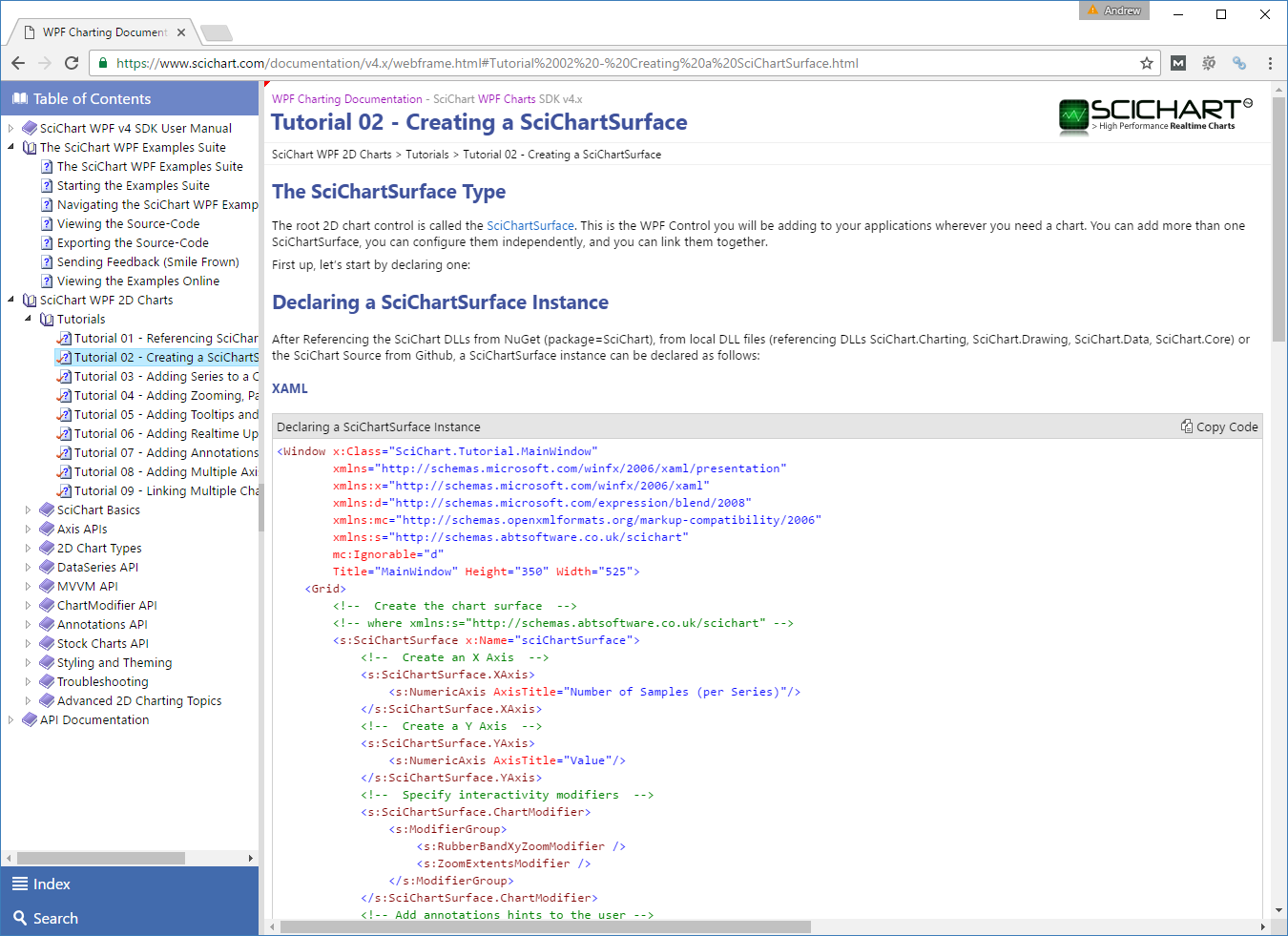 GitHub - ABTSoftware/SciChart Wpf Examples: Examples, tutorials, and