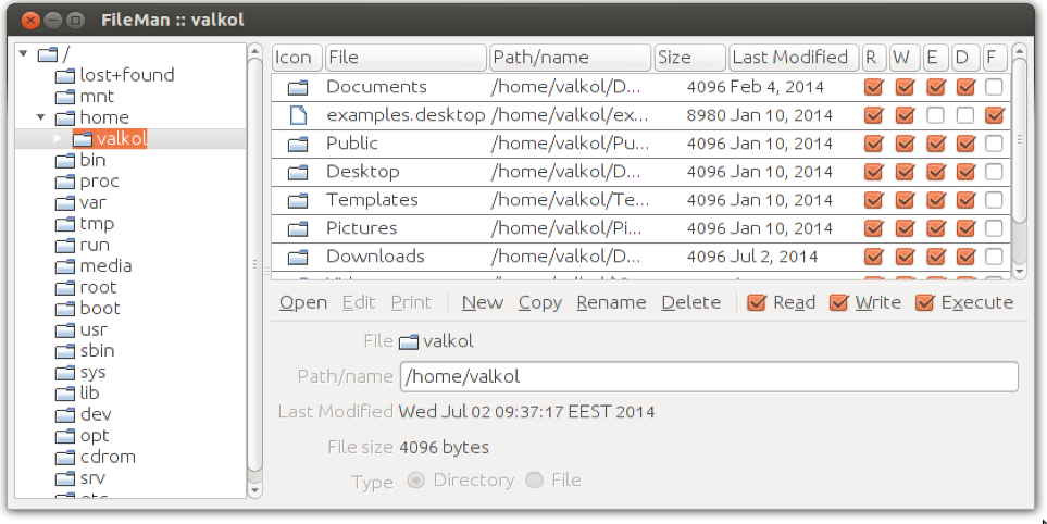 Ajax-php file manager.