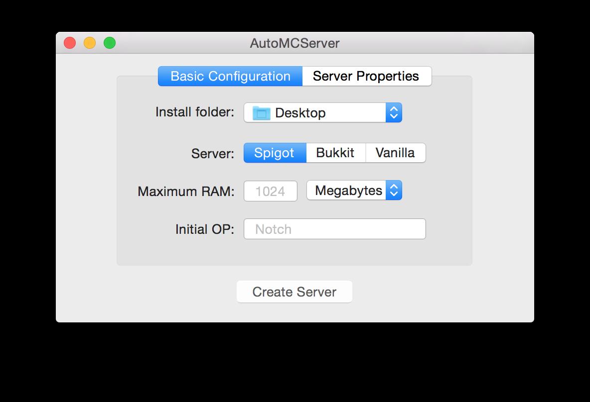 """""""Basic Configuration"""""""