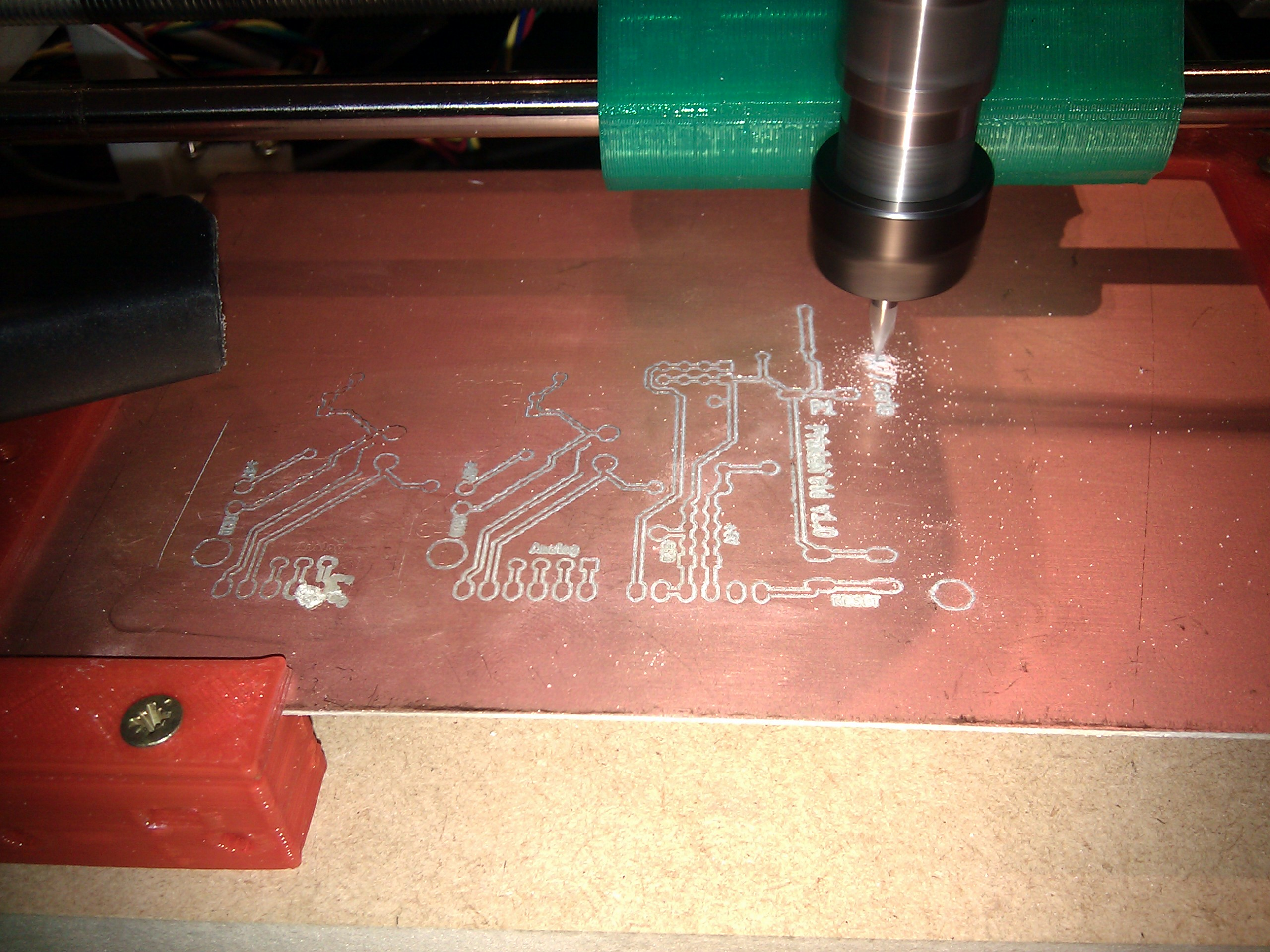 Considerations after first PCB milling tests · Issue #4