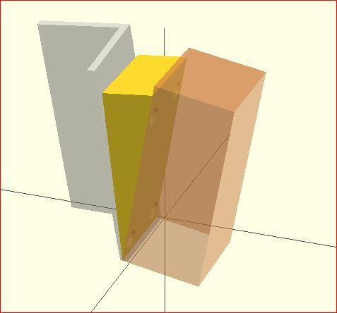 OpenSCAD color eg