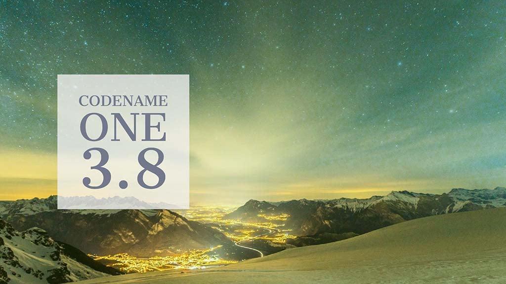 Codename One 3.8 Heading