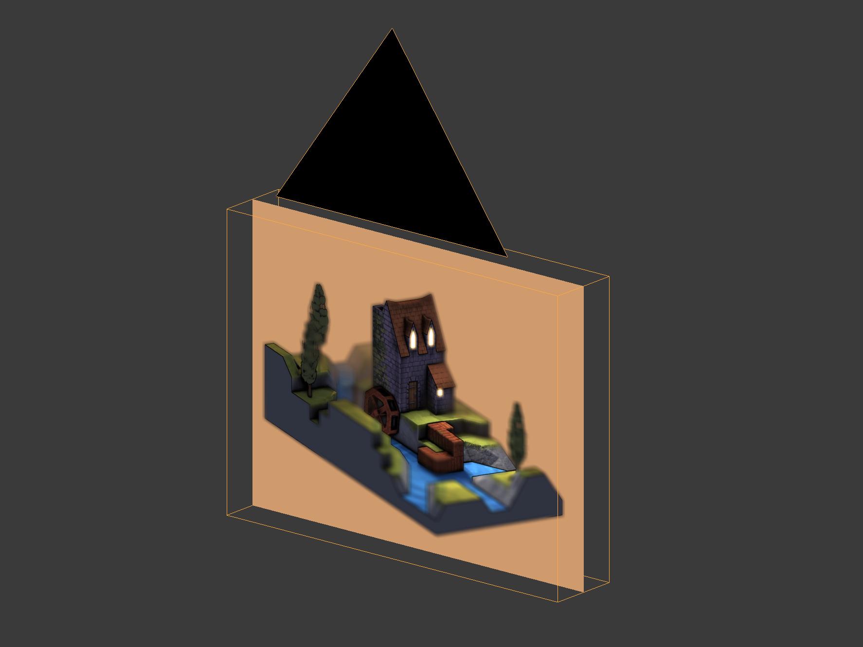 The second framebuffer texture setup.