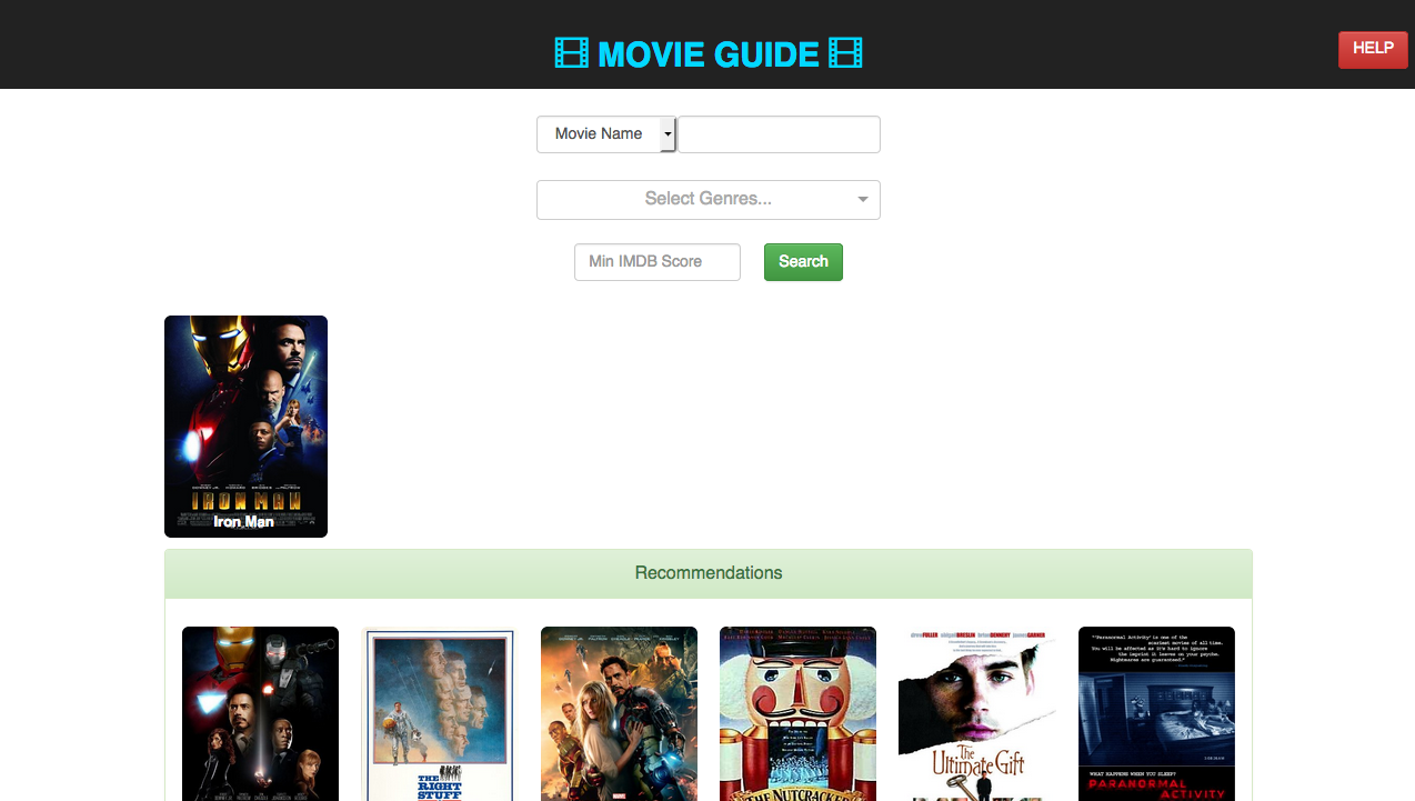 GitHub - apsdehal/movie-recommendations: Movie Recommendations