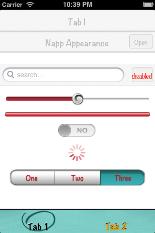 NappAppearance