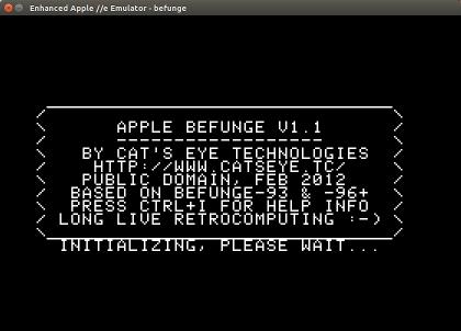 Apple Befunge