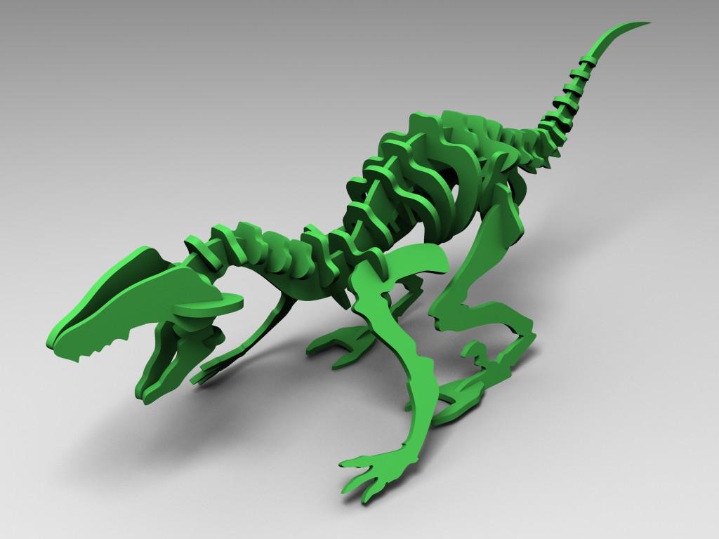FlatFab Dino
