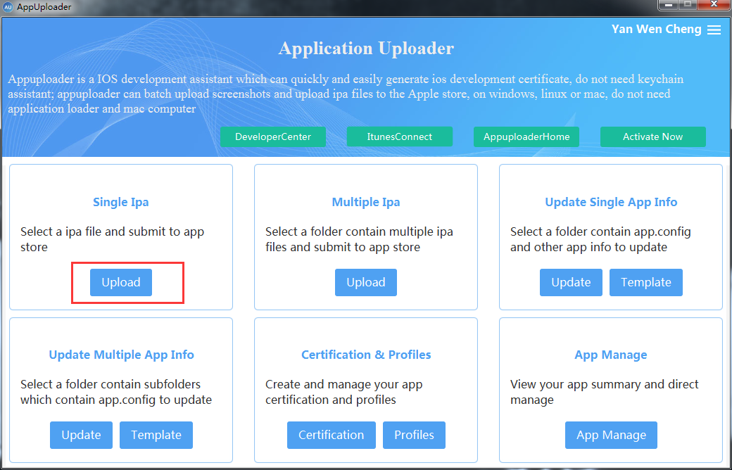 How to submit your iOS app to App Store on Windows system · qtb000
