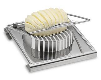 an egg slicer