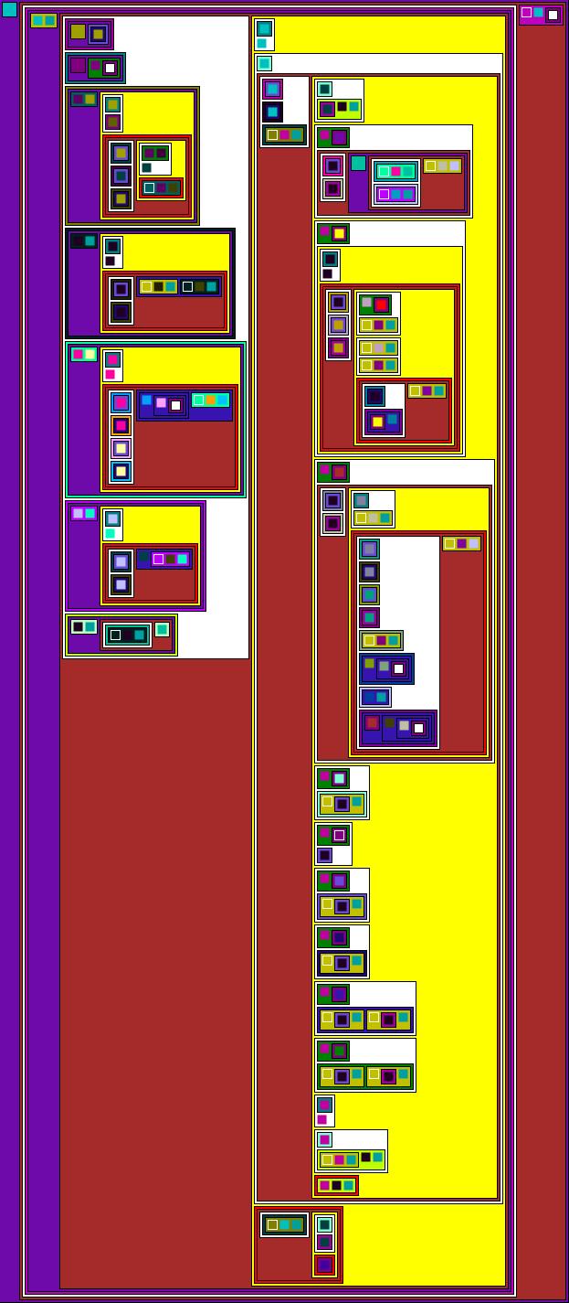 Pixley Interpreter as nested rectangles