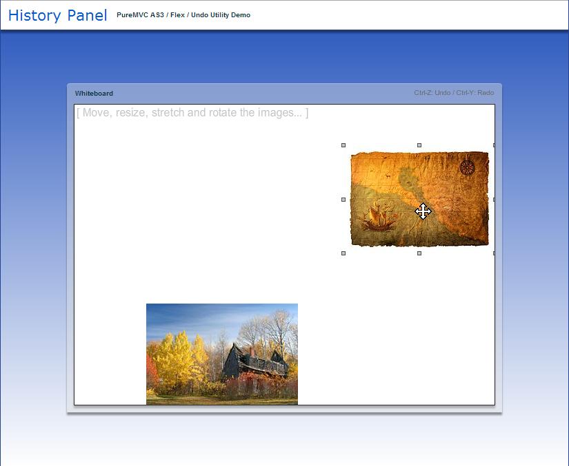 PureMVC AS3 Demo: History Panel