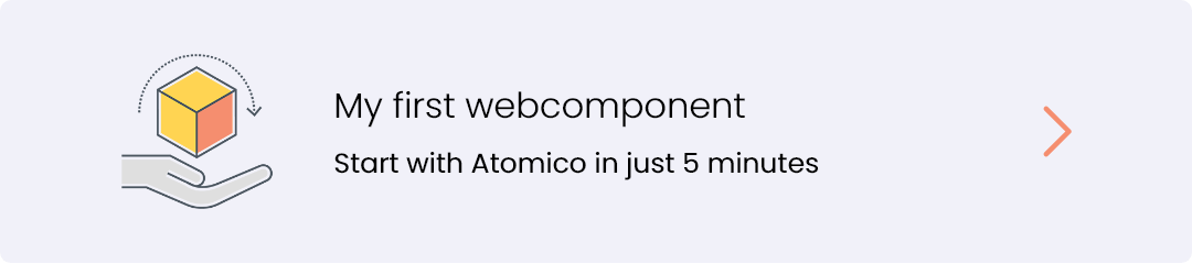 my first webcomponent with Atomico