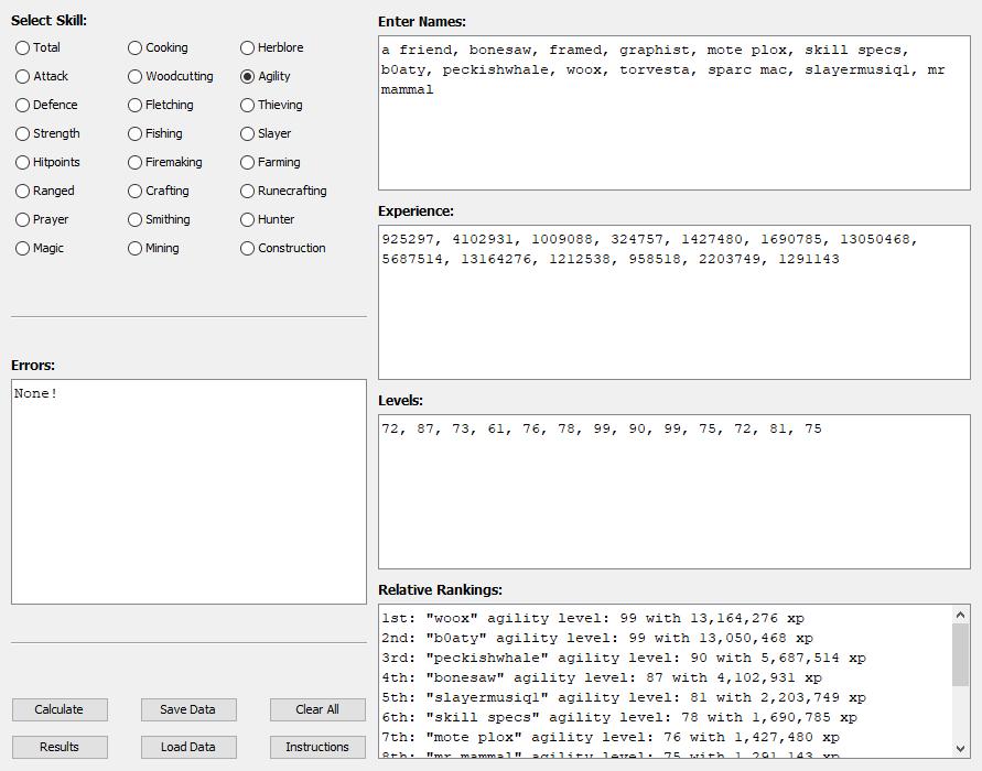 GitHub - WeaverDyl/OSRS-Skill-Tracker: A hiscore ranker and