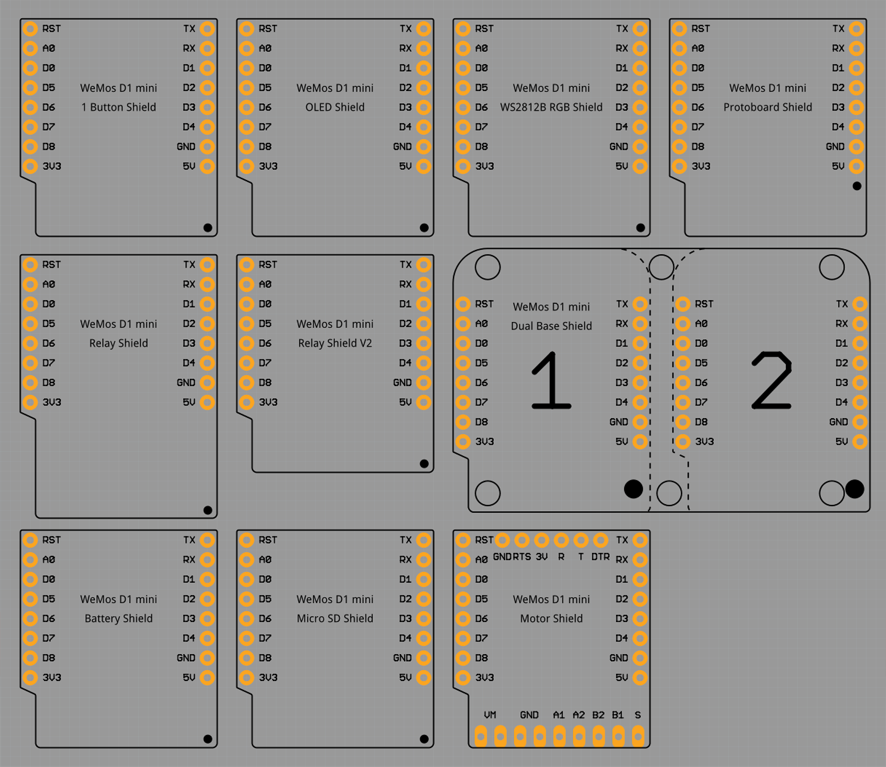 5v Relay Fritzing Library