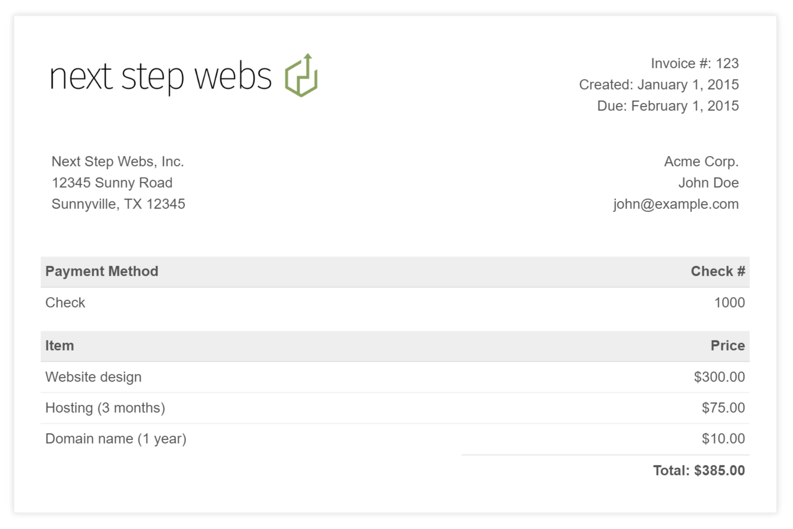 Hucareus  Pretty Simple Invoice Template Free Bill Format In Word Format Simple  With Handsome Github  Nextstepwebssimplehtmlinvoicetemplate A Modern  With Comely Receipt Copy Sample Also Lic Premium Paid Receipt In Addition Receipts And Payments Format And Customised Receipt Books As Well As Shop Receipt Template Additionally Delaware Gross Receipts Tax Return From Happytomco With Hucareus  Handsome Simple Invoice Template Free Bill Format In Word Format Simple  With Comely Github  Nextstepwebssimplehtmlinvoicetemplate A Modern  And Pretty Receipt Copy Sample Also Lic Premium Paid Receipt In Addition Receipts And Payments Format From Happytomco