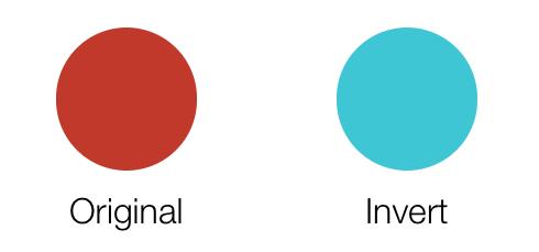 invert color