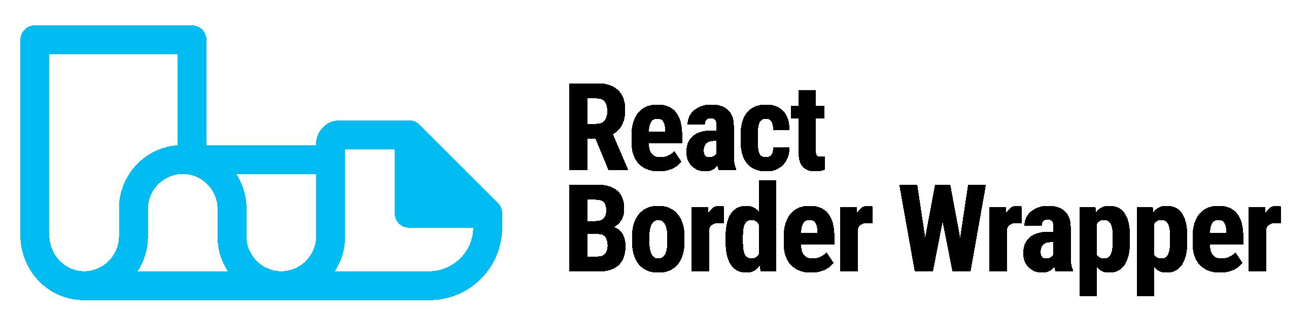 React Border Wrapper Logo