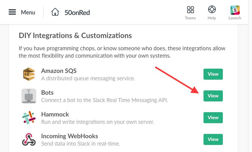 Slack Integration List