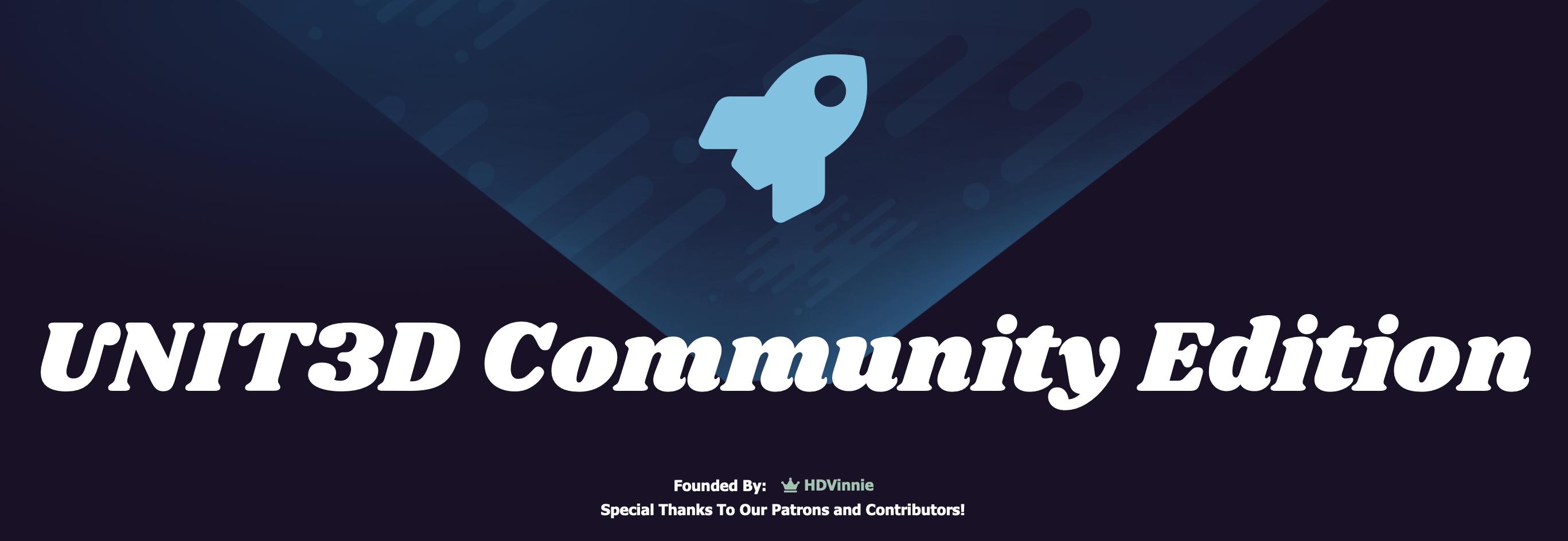 UNIT3D-Community-Edition Cover Image
