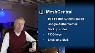 MeshCentral - Two Factor Authentication